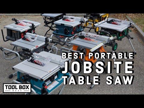 Best Portable Job Site Table Saw - Head-2-Head