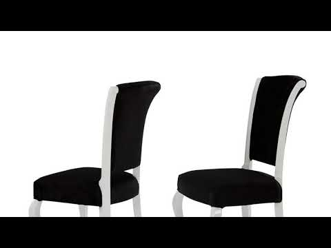 Modern Black Dining Room Chairs Furniture