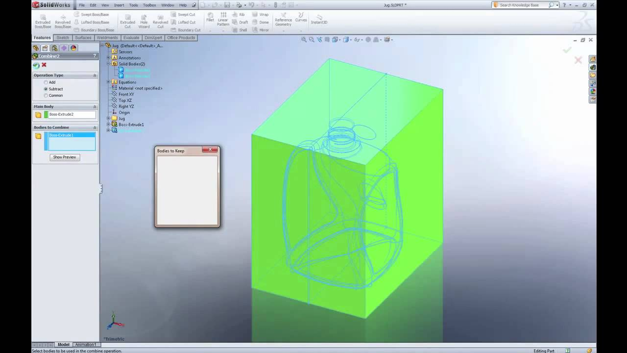 Solidworks quick tip calculating volume youtube ccuart Image collections