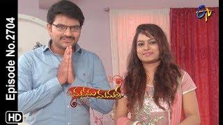 Manasu Mamata   19th September 2019    Full Episode No 2704   ETV Telugu
