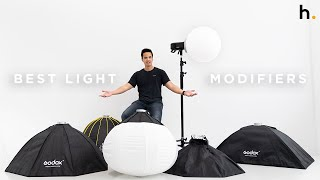 Which Softbox Works For You? | 8 Lighting Modifiers Explained | FIELD TEST screenshot 5