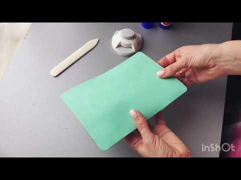 Как сделать обложку на паспорт своими руками. Мк скрапбукинг. Обложка на паспорт DIY