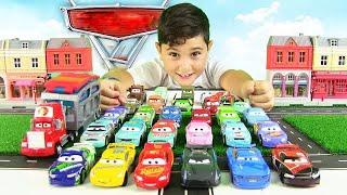 Arabalar 3 Filmi Oyuncak Arabalar | Piston Kupası Seçmeleri