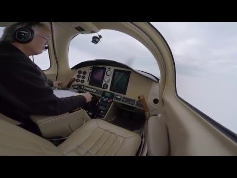 GoPro Tampa Executive Instrument Approach in Columbia 400