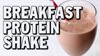 Quick Bodybuilding Breakfast Protein Shake