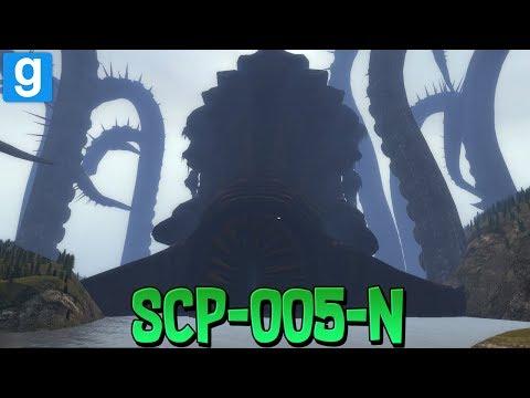 SCP RP // SCP-005-N LE KRAKEN !! - Garry's Mod