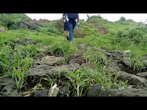 me & my friends climb bhivpuri hill beatifull lake and waterfall