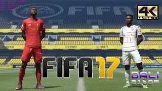 FIFA 17 PC Gameplay 4K UltraHD 2160p 60fps
