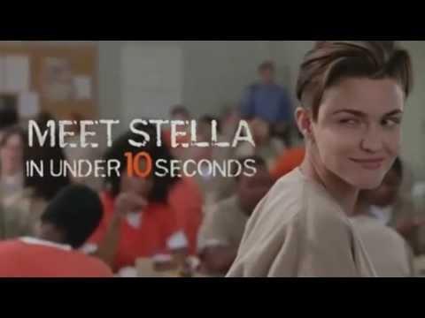 Orange Is The New Black Season 3 Meet Stella Carlin Ruby Rose Sneak Peek Youtube