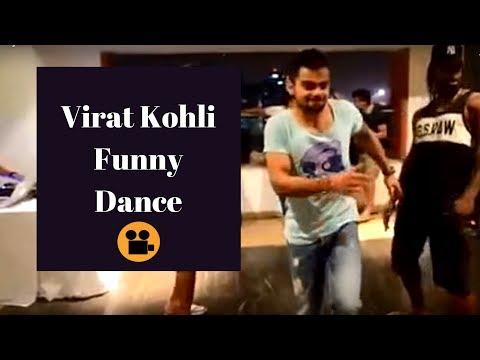 Virat Kohli, Yuvi & Chris Gayle dancing...V V Funny !!!