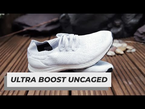 ADIDAS ULTRA BOOST UNCAGED UNBOXING - WHITE