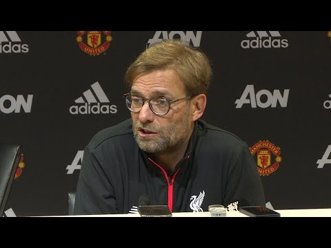 Manchester United 1-1 Liverpool - Jurgen Klopp Full Post Match Press Conference