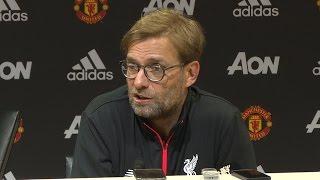 Manchester United 1-1 Liverpool - Jurgen Klopp Full Post Match Press Conference