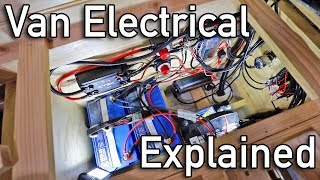 AWESOME DIY ELECTRICAL SYSTEM - Sprinter Camper Conversion | Van Life