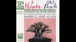 HaydnC P E Bach Concertos pour Orgue Marie Claire Alain