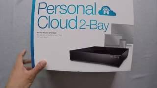 Unboxing Seagate Personal Cloud 2-Bay 4TB