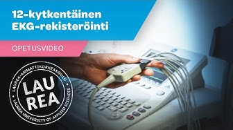 Opetusvideo 12-kytkentäisestä EKG-rekisteröinnistä sairaanhoitajaopiskelijoille