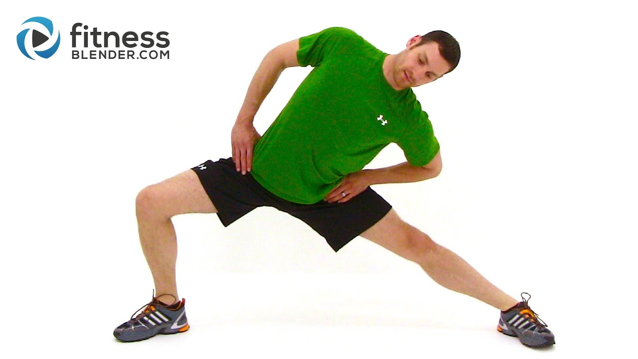 Cool Down and Full Body Stretch - Relaxing Cool Down and ...