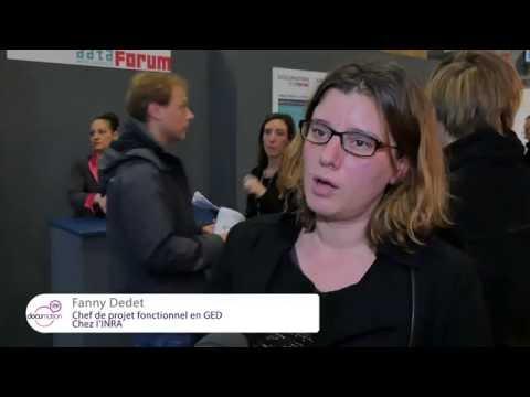 Les visiteurs de Documation et Data Forum 2016 témoignent