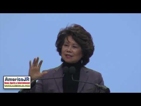 U.S. Transportation Secretary Elaine Chao @ Automobili-D NAIAS 2018