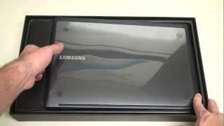 unboxing Samsung Series 9 15 inch Ultrabook 900X4C-A01