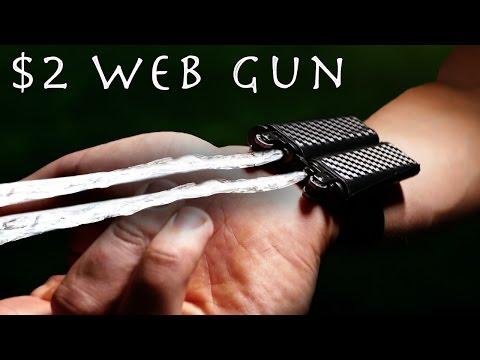 Make a SPIDER-MAN Web Shooter! - Super Simple $2 build!!!