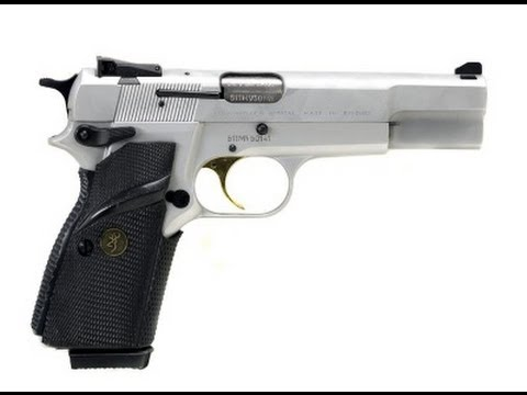 The Browning Hi Power 9mm