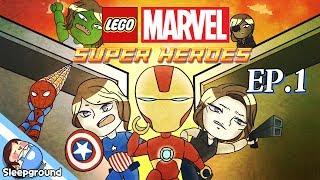 헐크&아이언맨 잠뜰!! [레고 마블 슈퍼히어로즈 #1편] - LEGO MARVEL Super Heroes - [잠뜰]