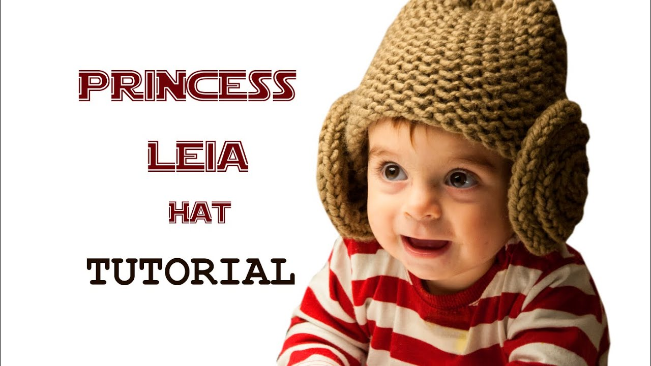 How to Loom Knit a Star Wars Princess Leia Hat (DIY Tutorial) - YouTube