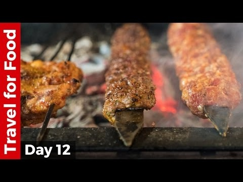 Turkish Food Tour in Istanbul - BEST Kebabs of My Life, AMAZING Seafood, and Turkish Ice Cream!