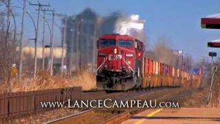 CP Intermodal Train - IN COLOR