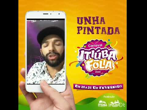 UNHA PINTADA MANDANDO UM RECADO PARA OS FÃS DE ITIÚBA!!!