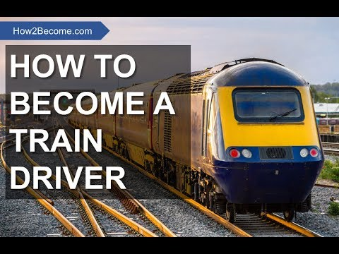 HOW TO BECOME A TRAIN DRIVER: Application Form, Tests And Interview Training