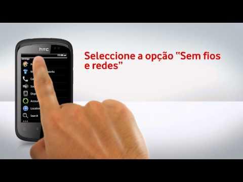 HTC Explorer - Configuração de Wi-Fi