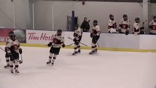 Highlights jr A Hockey Icehawks vs Hurricanes 2018