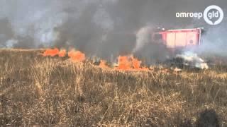 Grote heidebrand in Hoenderloo, zeker 10 hectare verwoest