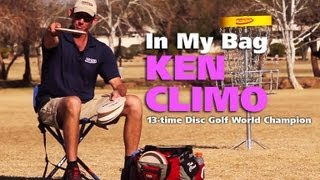 In My Bag with 13-time Disc Golf World Champion Ken Climo