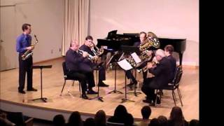 allegro and funky fugue for alto saxophone and brass quintet