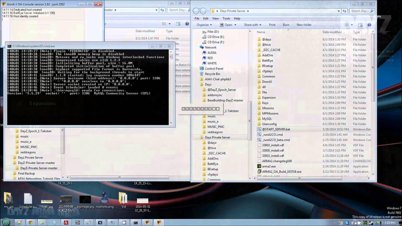 Setting up a Dayz Server | Open DayZ Community