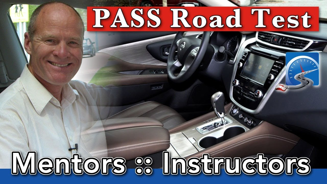 The Right Instructor & Mentors to Pass Driver's Test