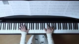 使用楽譜;月刊ピアノ2017年2月号、 2017年1月22日録画、 楽譜記載の難易度; 星の数 2/5、