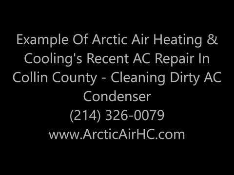 24 Hour Emergency AC Repair - McKinney, Allen, Prosper, Fairview, Princeton - Dirty Condenser