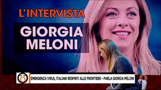 Una Grande Giorgia Meloni A Fuori Dal Coro Ospite Di Mario Giordano. Da Ascoltare E Diffondere!