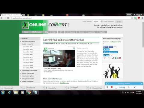 How To Convert An Audio WAV To OGG Format Using Online Convert com