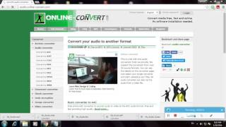 How To Convert An Audio WAV To OGG Format Using Online Convert com