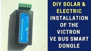Victron Energy VE.Bus Smart dongle Bluetooth Adaptador y Tarjeta de Red