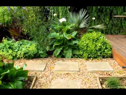 Modern garden design ideas youtube for Contemporary garden designs and ideas