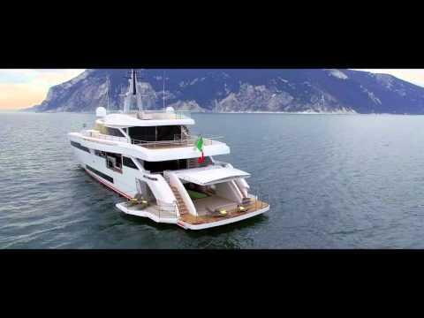 Superyacht Project Genesi's Drive-In Tender Bay