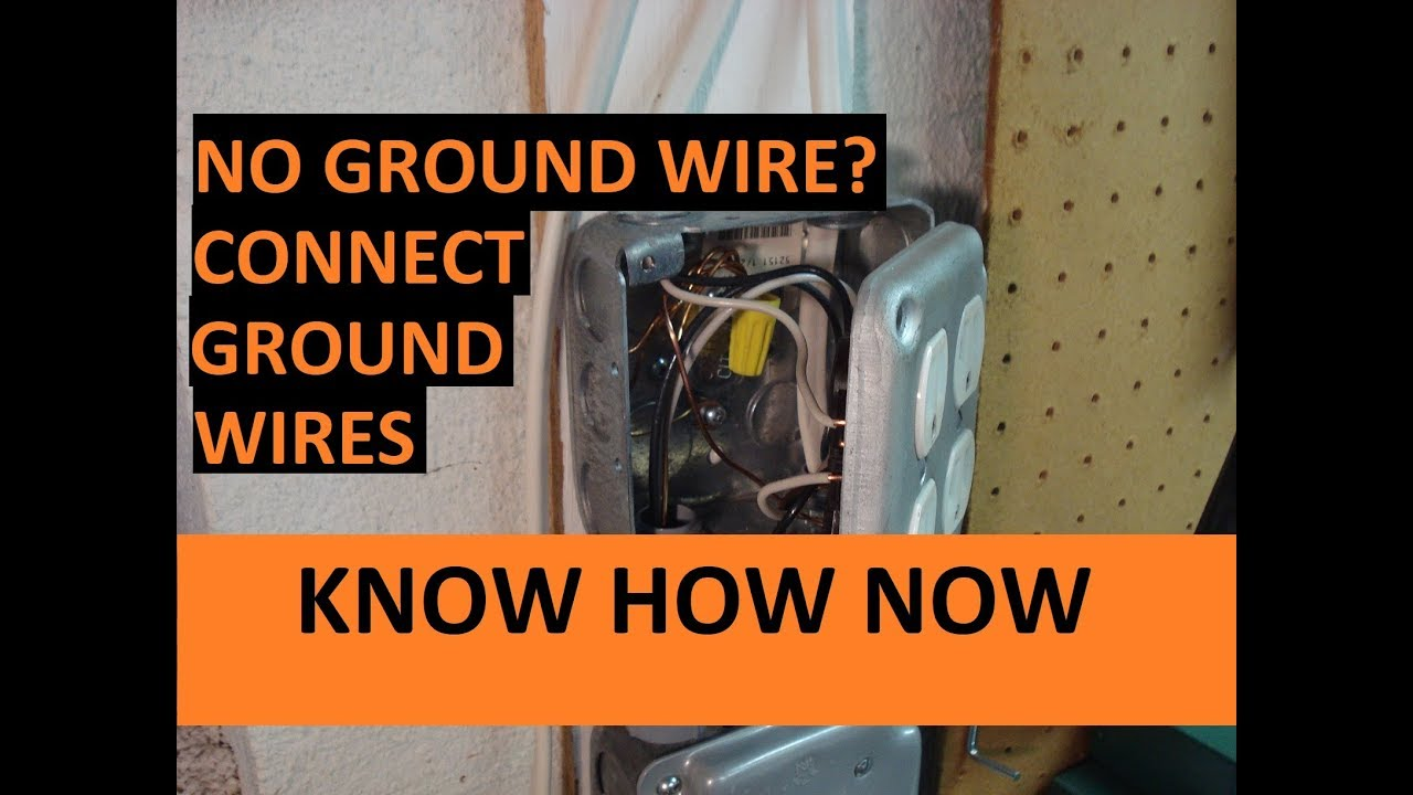 How to Connect Ground Wires - YouTubeYouTube