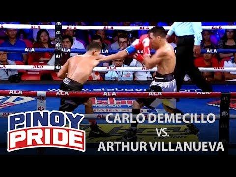 Pinoy Pride 45: Carlo Demecillo vs. Arthur Villanueva
